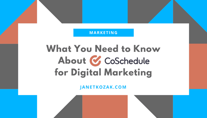 What You Need to Know About CoSchedule for Digital Marketing
