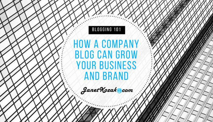 Blogging 101 – How A Company Blog Can Grow Your Business and Brand