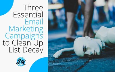 Three Essential Email Marketing Campaigns to Clean Up List Decay