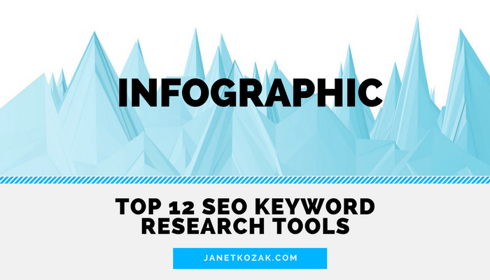 12 SEO Keyword Research Tools [INFOGRAPHIC]
