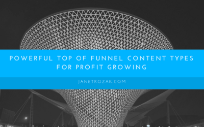 Powerful Top of Funnel Content Types for Profit Growing