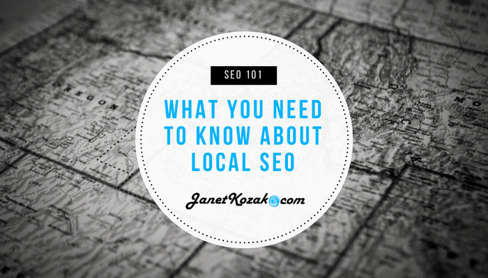 SEO 101 – What You Need to Know About Local SEO