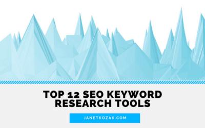 Top 12 SEO Keyword Research Tools